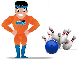 SponsorMan Sponswerving Bowling 260x200