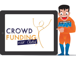 SponsorMan iPad Crowdfunding voor Sport 260x200