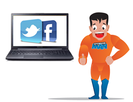 SponsorMan laptop Social Media 260x200